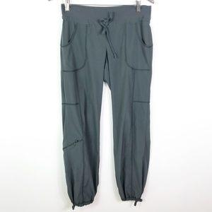 Athleta City Jogger Pants Gray Size 8 Drawstring